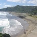 North Piha from top of Lion