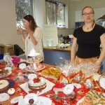 Ladies Cake Stall at Piha Fair, 2012