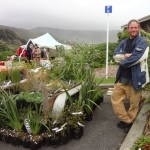 Geoff at Piha Fair, 2012