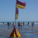 Safety signs on beaches