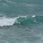 Piha's surf break