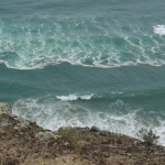 Sea at Te Ahua Point