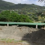 New sewerage system under construction