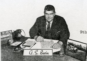 Alister Bevin from his letterhead