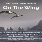 Gallery calling for entries in On the Wing