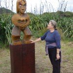 New pou installed at Te Ahua Point