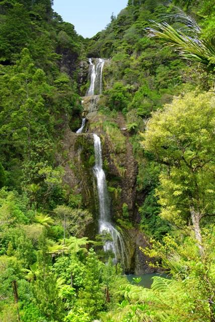 Kitekite Falls Piha Piha Beach Piha New Zealand