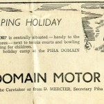 History of the Piha Domain