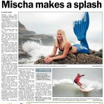 Mischa makes a splash in Western Leader