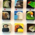 Zeke's birds at West Coast Gallery