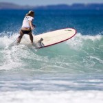 Mischa Davis is Women's Champ in Hyundai Longboard Tour