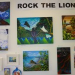Rock the Lion on Gallery walls