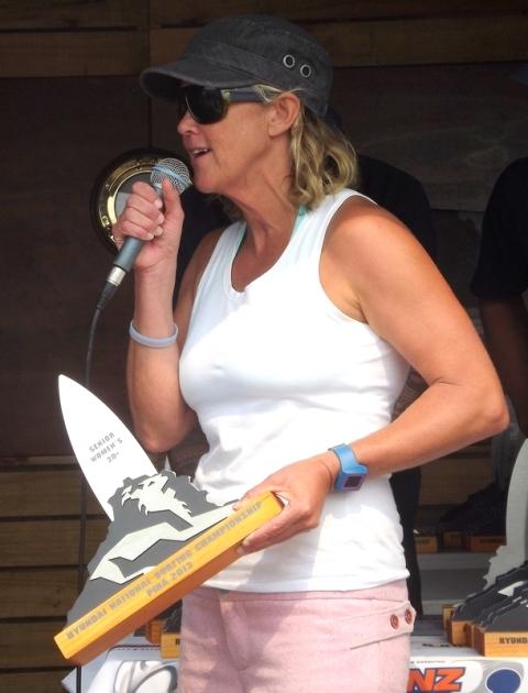 Anna Jolly winner over 30 women