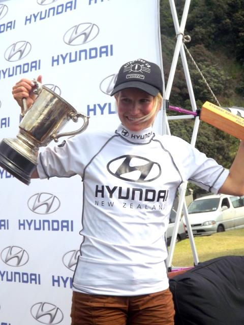 Mischa with her trophies