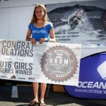 Piha Girl wins U16 grom series