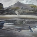 Jill Perrott landscapes at the West Coast Gallery
