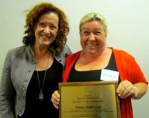 Fiona Peace Award