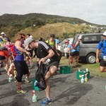 The Hillary Ultra traverses Piha
