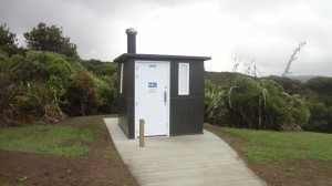 New  Mercer Bay Loop Track toilet
