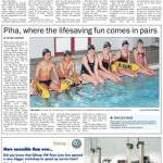 Three sets of twins represent Piha SLSC