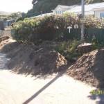 Origins of dumped sand?