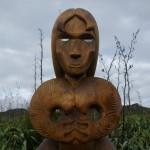 New pou installed at Te Ahua Point