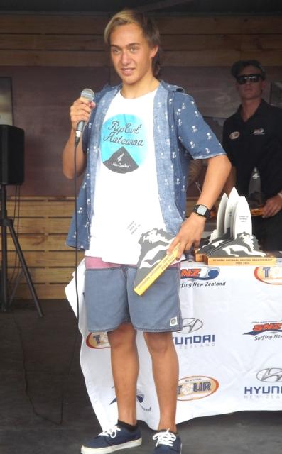 Elliot Paerata-Reid winner under-18s
