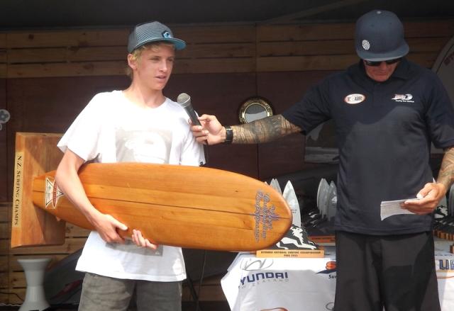winner Peter Byers trophy