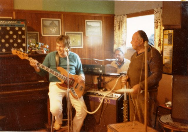 Bill Roll, Dave Read and Des Pike