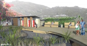 Piha Domain Toilet and Changing Room April 2013