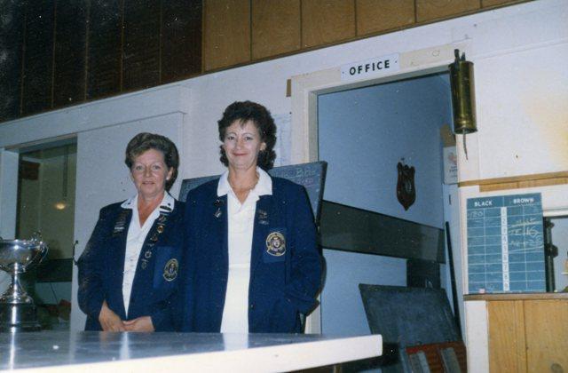 Rosalie Pringle and Janet Murray