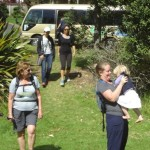 Waitakere Ranges Local Board guides walk to Kauri Die back areas