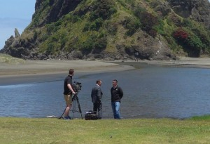TV1 interview Martin Neale water scientist from Auckland Council